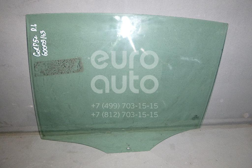 Стекло двери задней левой для VW Golf V Plus 2005-2014 - Фото №1