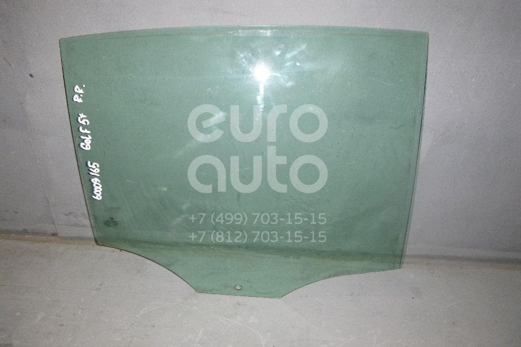 Стекло двери задней правой для VW Golf V Plus 2005-2014 - Фото №1