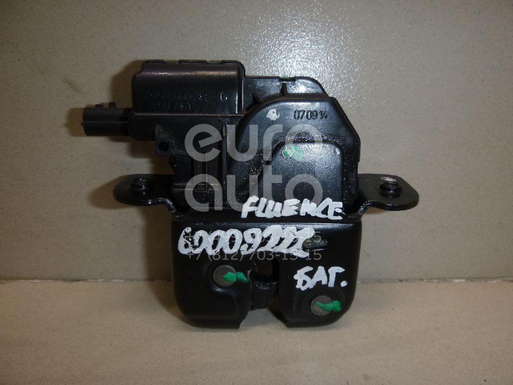 Замок багажника для Renault Fluence 2010>;Latitude 2010> - Фото №1