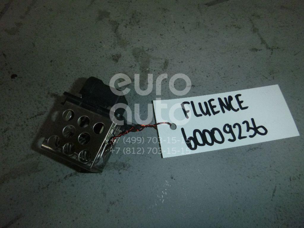 Резистор для Renault Fluence 2010>;Megane III 2009-2016;Scenic 2009-2015 - Фото №1