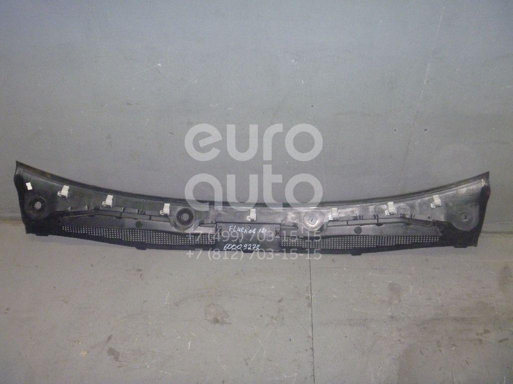 Решетка стеклооч. (планка под лобовое стекло) для Renault Fluence 2010> - Фото №1