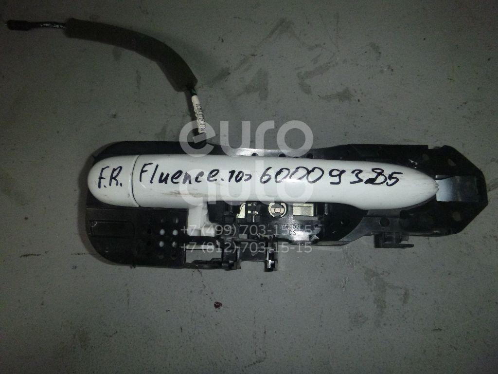 Ручка двери наружная правая для Renault Fluence 2010> - Фото №1