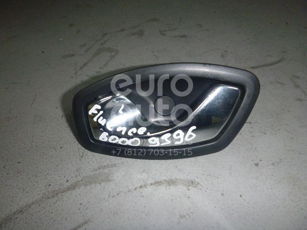 Ручка двери внутренняя левая для Renault Fluence 2010>;Megane III 2009>;Scenic 2009>;Latitude 2010> - Фото №1