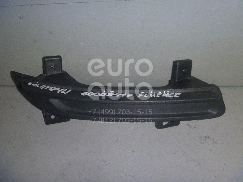 Кронштейн фары противотуманной левой для Renault Fluence 2010> - Фото №1