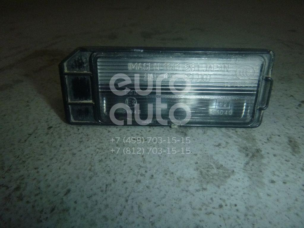 Фонарь подсветки номера для Peugeot,Citroen 4008 2012>;C4 Aircross 2012> - Фото №1