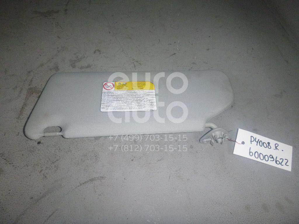 Козырек солнцезащитный (внутри) для Peugeot,Citroen 4008 2012>;C4 Aircross 2012> - Фото №1