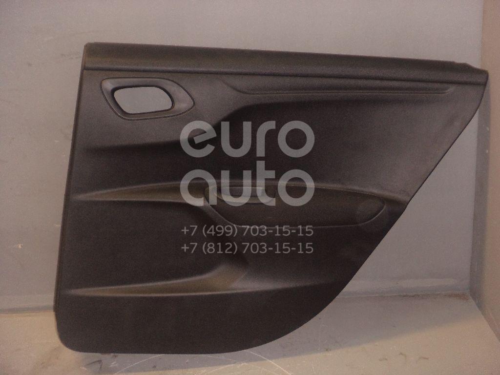 Обшивка двери задней правой для Peugeot,Citroen 301 2013>;C-Elysee 2012> - Фото №1