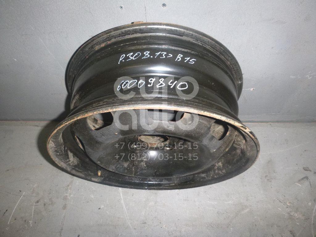 Диск колесный железо для Citroen 301 2013>;207 2006>;208 2012>;C-Elysee 2012> - Фото №1