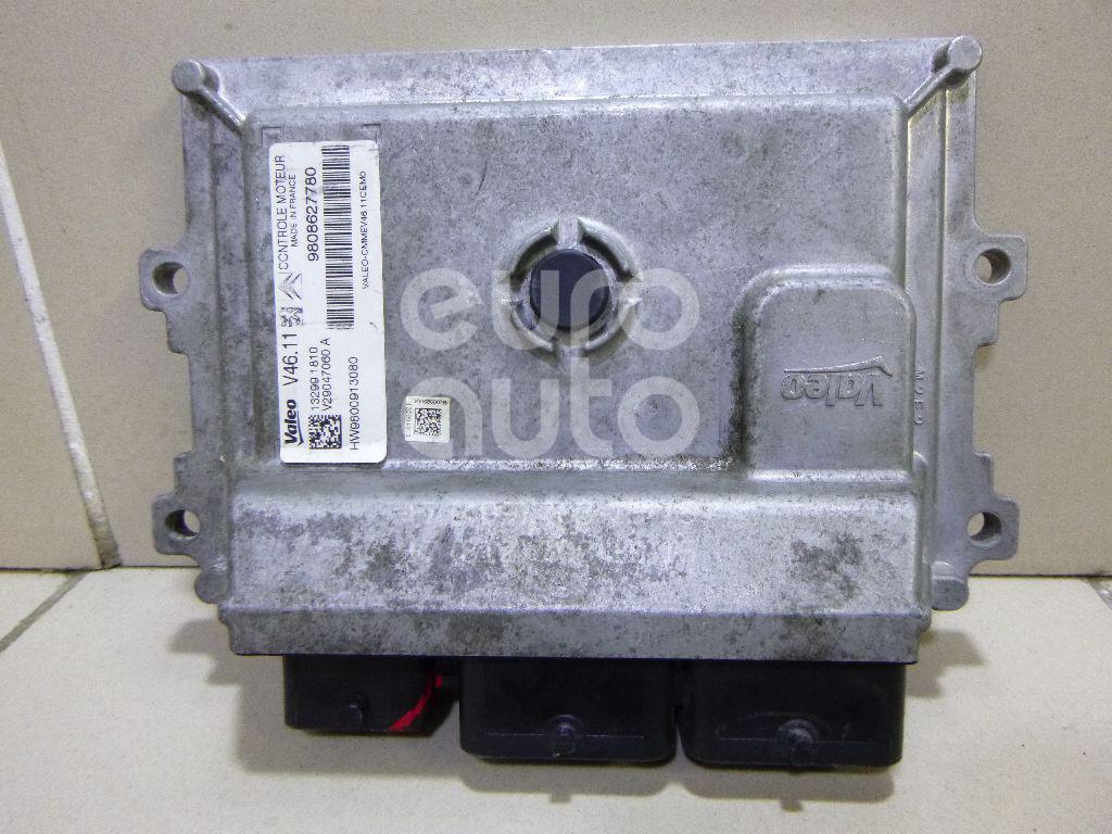 Блок управления двигателем для Peugeot,Citroen 301 2013>;C-Elysee 2012> - Фото №1