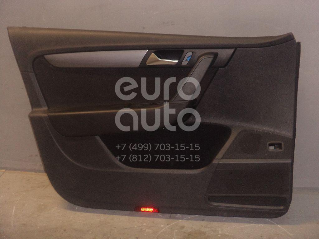 Обшивка двери передней левой для VW Passat [B7] 2011-2015 - Фото №1