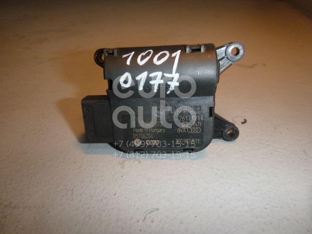 Моторчик заслонки отопителя для VW,Skoda Passat [B7] 2011-2015;Passat [B6] 2005-2010;Passat CC 2008>;Yeti 2009> - Фото №1