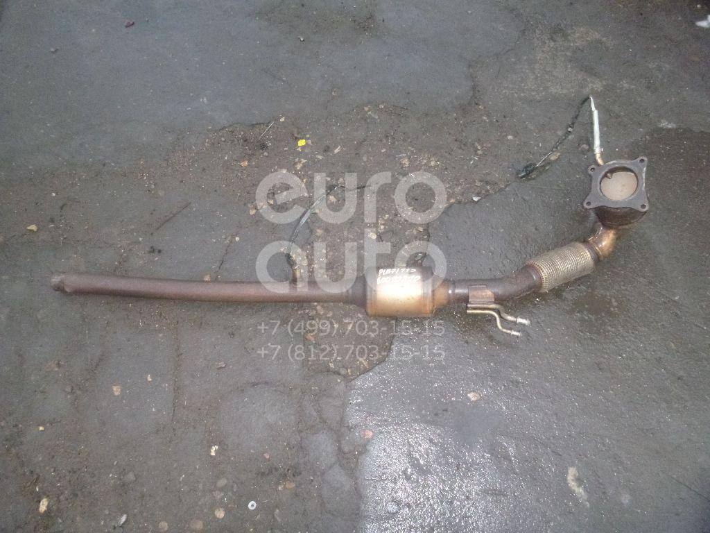 Приемная труба глушителя для VW Passat [B7] 2011-2015 - Фото №1