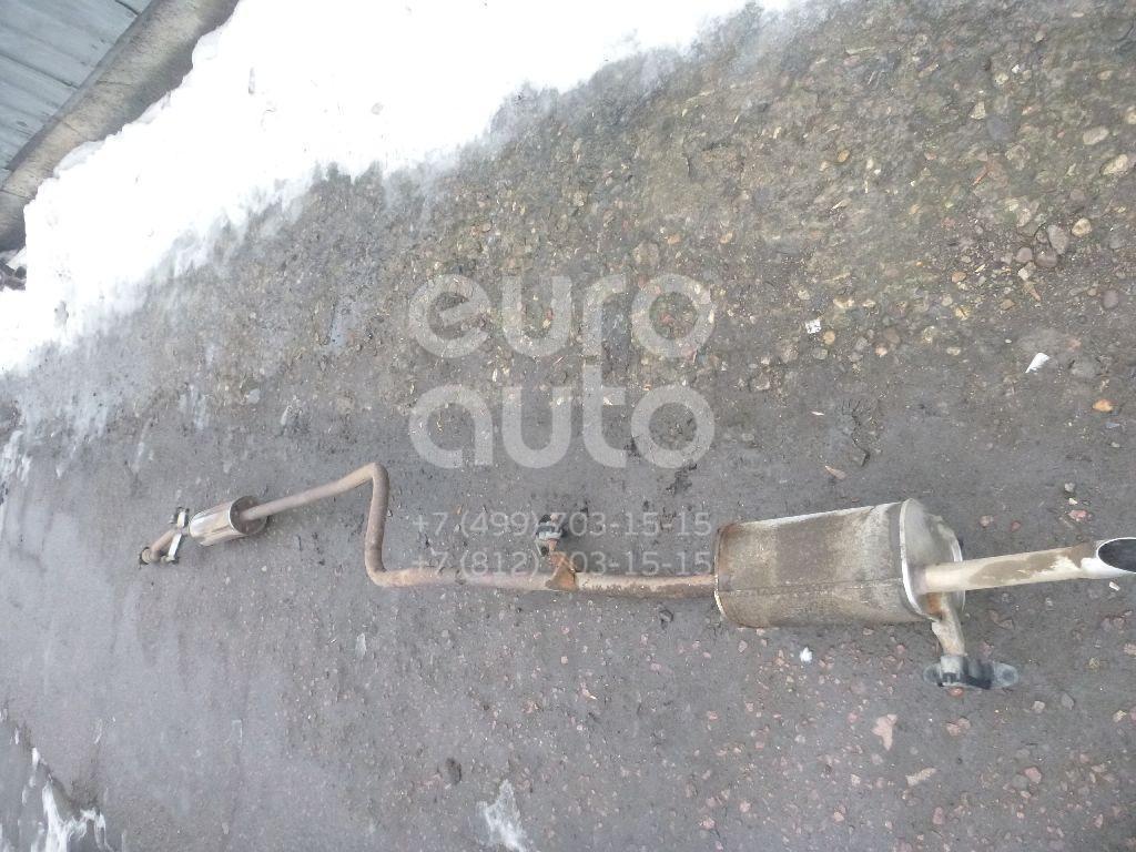 Глушитель основной для Peugeot,Citroen 301 2013>;C-Elysee 2012> - Фото №1
