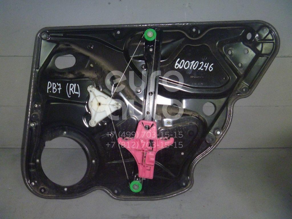 Стеклоподъемник электр. задний левый для VW Passat [B7] 2011-2015 - Фото №1