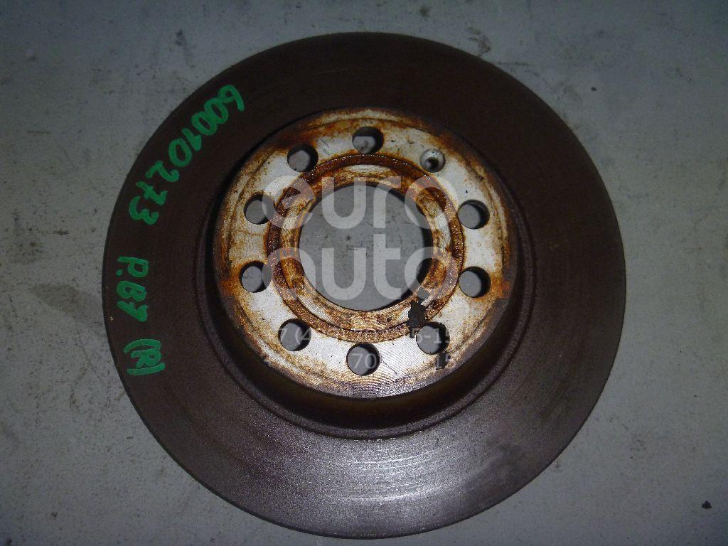 Диск тормозной задний для Audi Passat [B7] 2011>;Superb 2002-2008;Passat [B6] 2005-2010;Golf V 2003-2009;Touran 2003-2010;A3 [8P1] 2003-2013;Tiguan 2007-2011;Tiguan 2011>;Q3 2012> - Фото №1