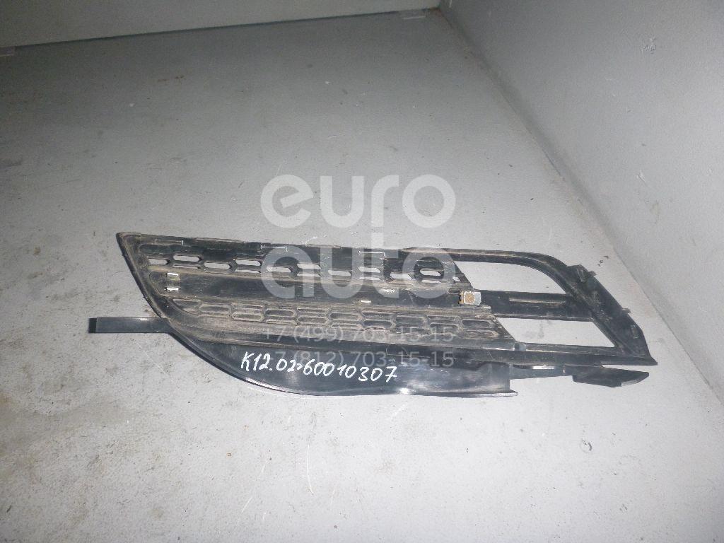 Решетка радиатора левая для Nissan Micra (K12E) 2002-2010 - Фото №1