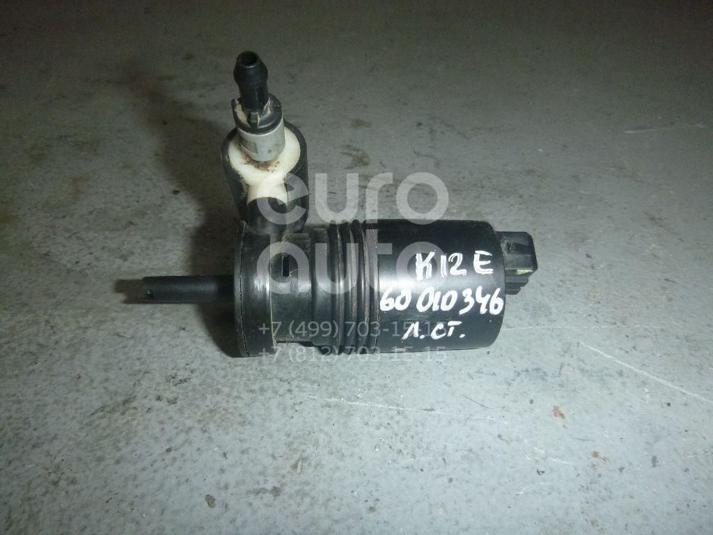 Насос омывателя для Nissan Micra (K12E) 2002-2010;Note (E11) 2006-2013;Primera P12E 2002-2007 - Фото №1