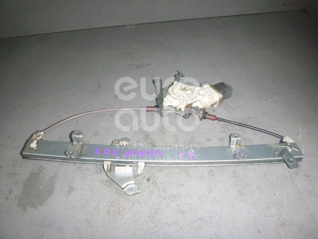 Стеклоподъемник электр. передний правый для Nissan Micra (K12E) 2002> - Фото №1