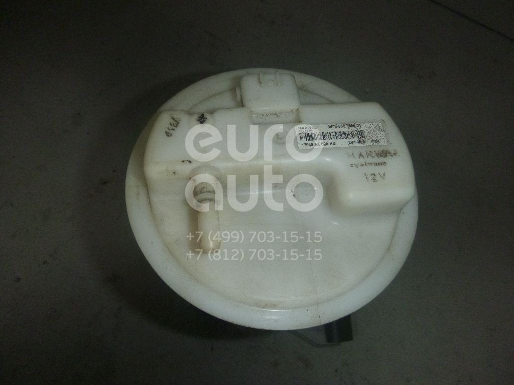 Насос топливный электрический для Nissan,Renault Micra (K12E) 2002-2010;Note (E11) 2006-2013;Clio II/Symbol 1998-2008;Juke (F15) 2011> - Фото №1