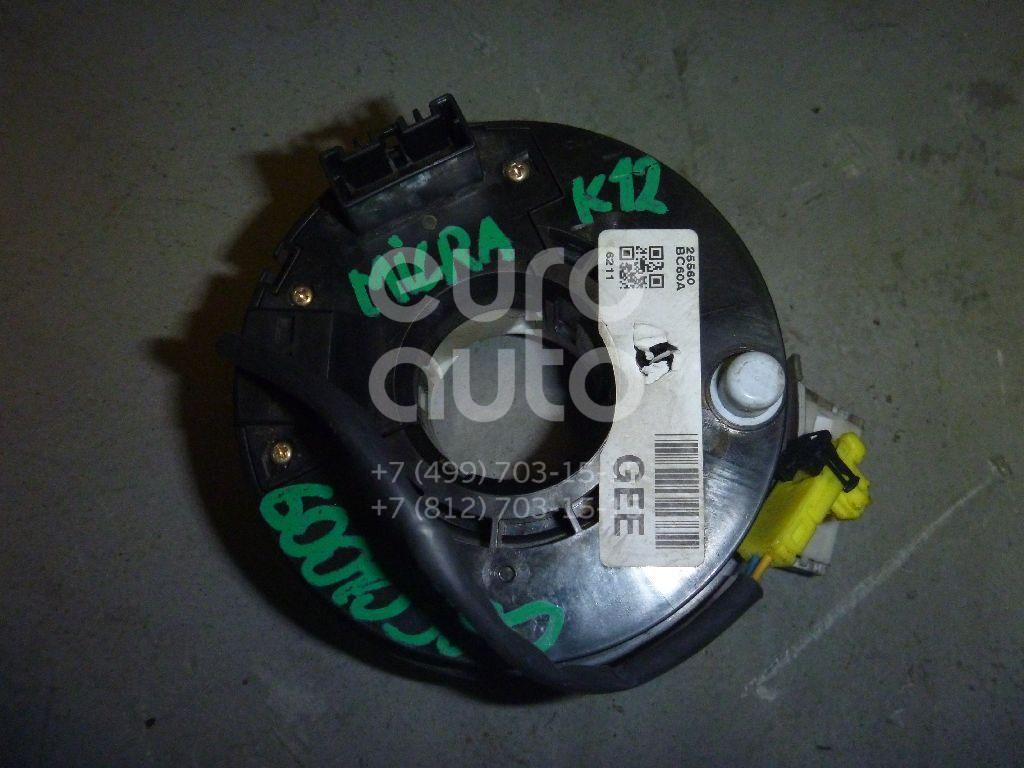 Механизм подрулевой для SRS (ленточный) для Nissan Micra (K12E) 2002-2010 - Фото №1
