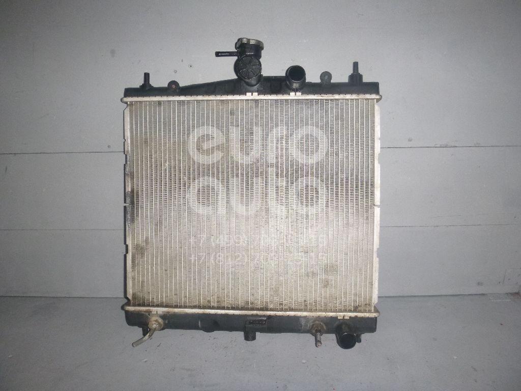 Радиатор основной для Nissan Micra (K12E) 2002-2010;Note (E11) 2006-2013;Tiida (C11) 2007-2014 - Фото №1