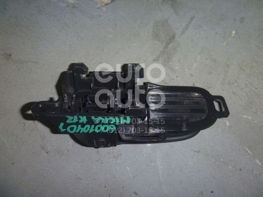 Ручка двери внутренняя правая для Nissan Micra (K12E) 2002-2010;Note (E11) 2006-2013 - Фото №1