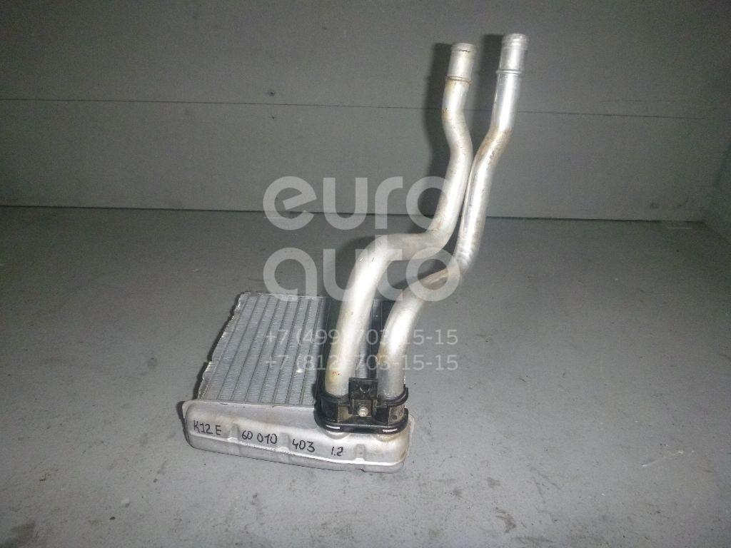 Радиатор отопителя для Nissan Micra (K12E) 2002-2010;Note (E11) 2006-2013 - Фото №1