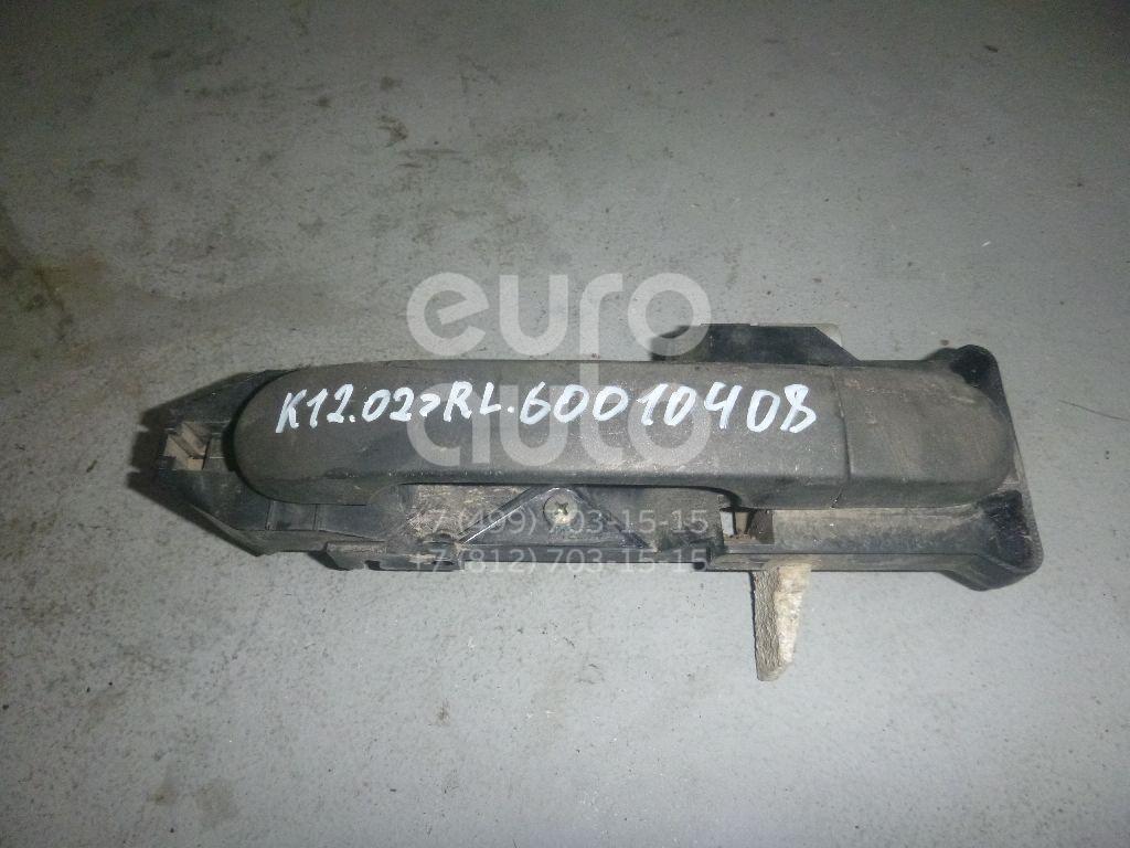 Ручка двери задней наружная левая для Nissan Micra (K12E) 2002-2010 - Фото №1