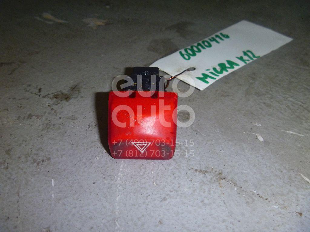 Кнопка аварийной сигнализации для Nissan Micra (K12E) 2002-2010 - Фото №1