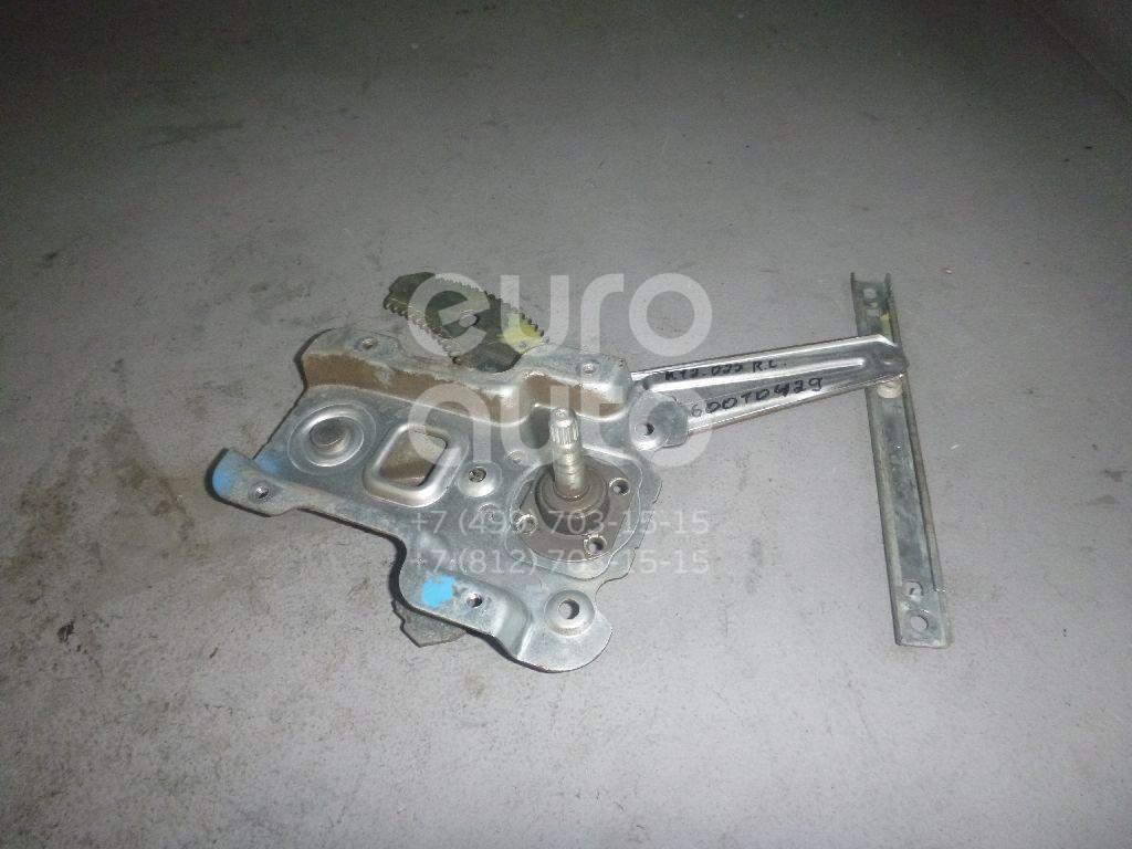 Стеклоподъемник механ. задний левый для Nissan Micra (K12E) 2002> - Фото №1