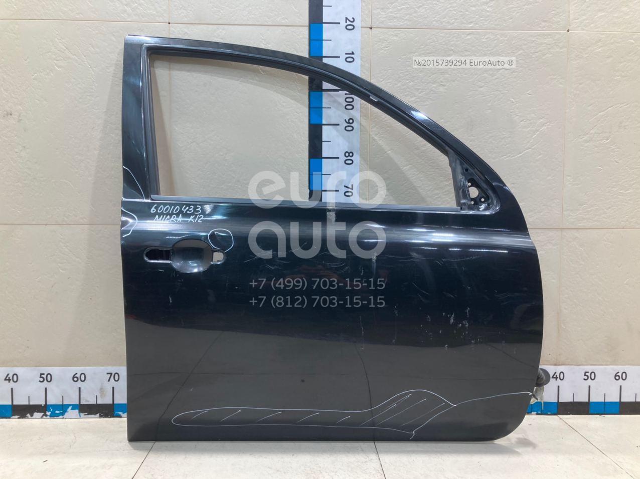 Дверь передняя правая для Nissan Micra (K12E) 2002-2010 - Фото №1