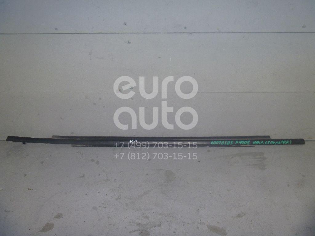 Накладка стекла заднего правого для Peugeot,Citroen 4008 2012>;C4 Aircross 2012> - Фото №1