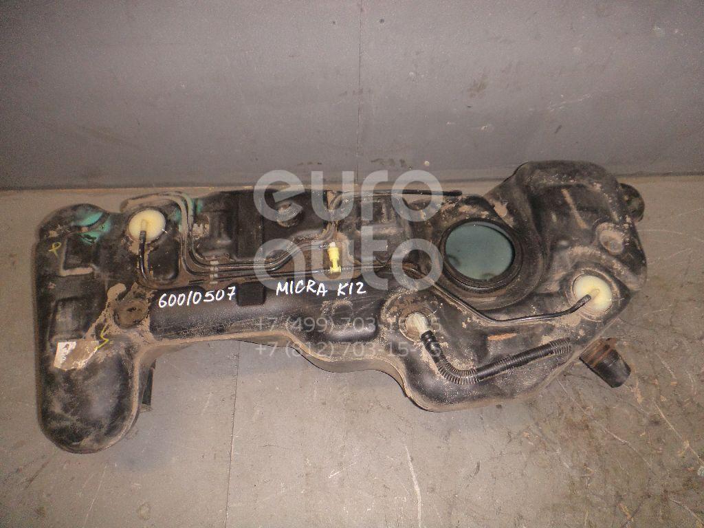 Бак топливный для Nissan Micra (K12E) 2002-2010;Note (E11) 2006-2013 - Фото №1