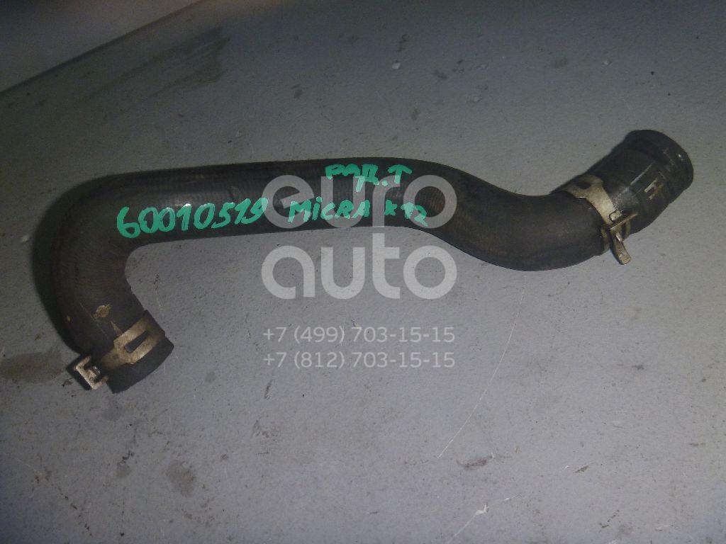 Патрубок радиатора для Nissan Micra (K12E) 2002-2010;Note (E11) 2006-2013 - Фото №1
