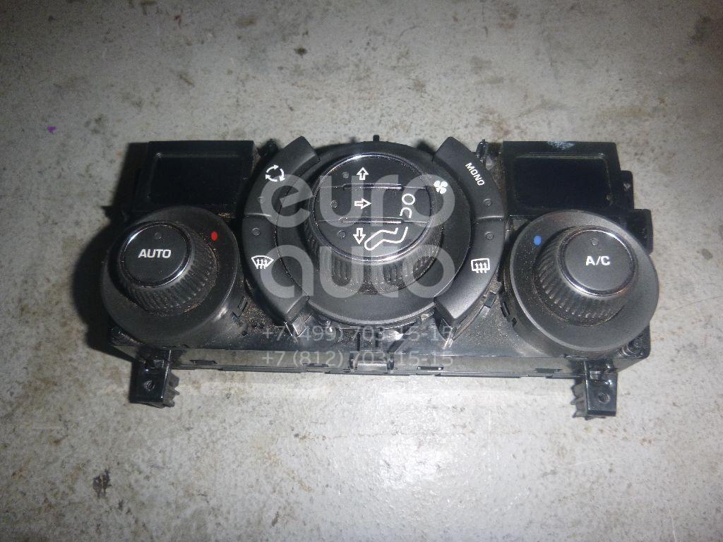 Блок управления климатической установкой для Peugeot 308 2007> - Фото №1