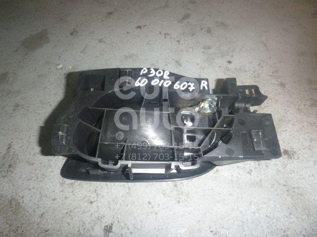 Ручка двери внутренняя правая для Peugeot,Citroen 308 I 2007-2015;C5 2008>;DS4 2011-2015;RCZ 2010-2014;408 2012> - Фото №1
