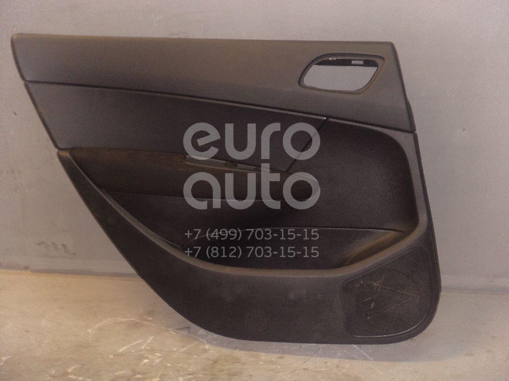 Обшивка двери задней левой для Peugeot 308 I 2007-2015 - Фото №1