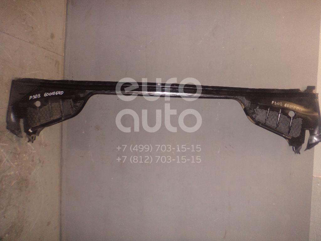 Решетка стеклооч. (планка под лобовое стекло) для Peugeot 308 2007> - Фото №1