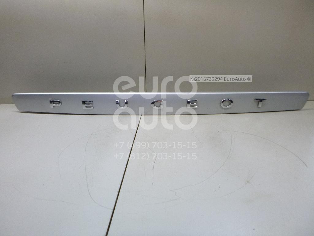 Накладка двери багажника для Peugeot 308 I 2007-2015 - Фото №1