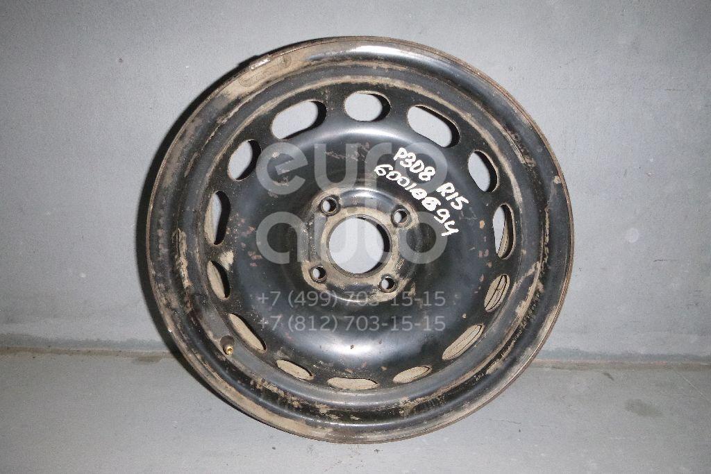 Диск колесный железо для Peugeot 308 I 2007-2015 - Фото №1