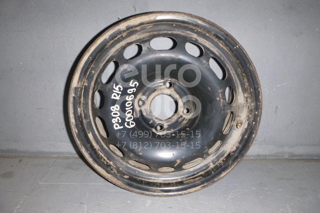 Диск колесный железо для Peugeot 308 2007-2015 - Фото №1