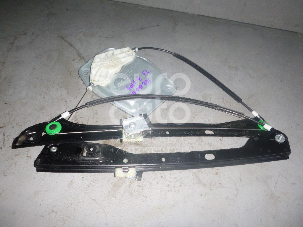 Стеклоподъемник электр. передний левый для VW Golf V Plus 2005-2014 - Фото №1