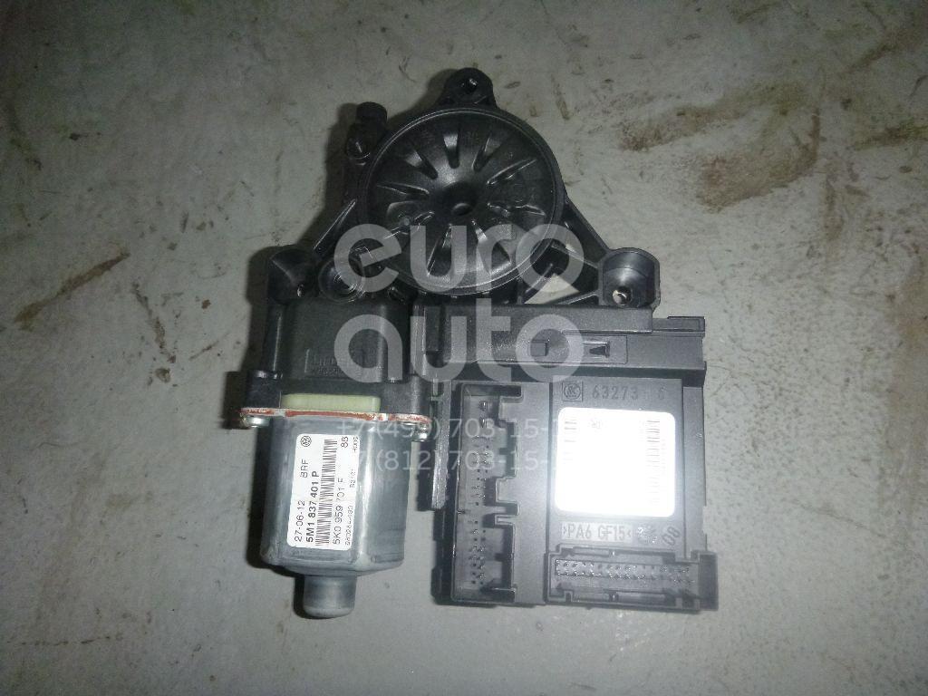 Моторчик стеклоподъемника для VW Golf V Plus 2005-2014 - Фото №1