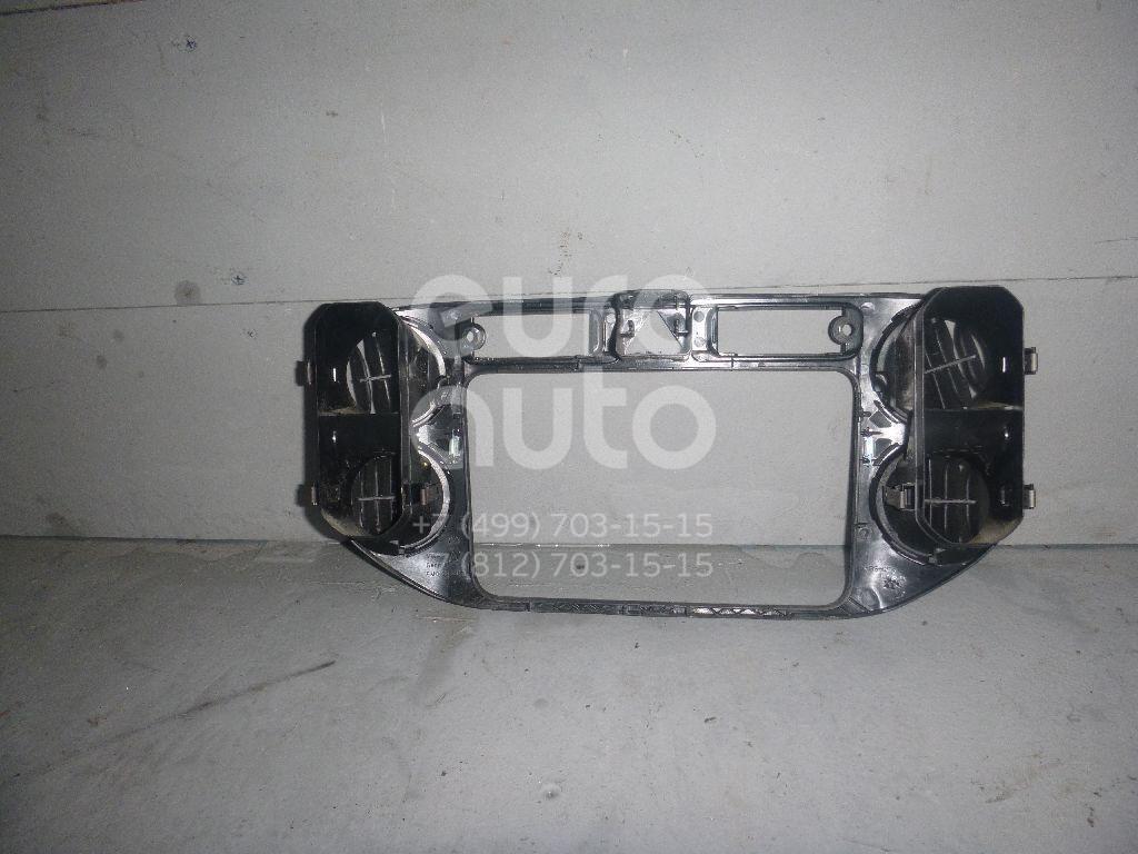 Рамка магнитолы для VW Golf V Plus 2005-2014 - Фото №1