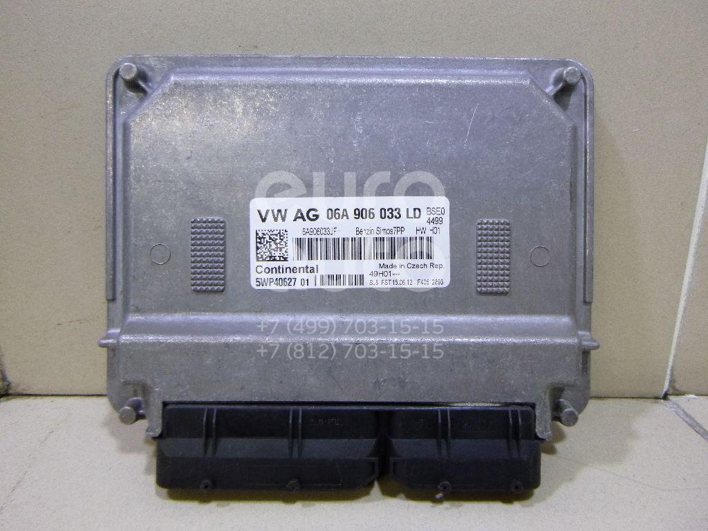 Блок управления двигателем для VW Golf V Plus 2005-2014;Golf IV/Bora 1997-2005 - Фото №1
