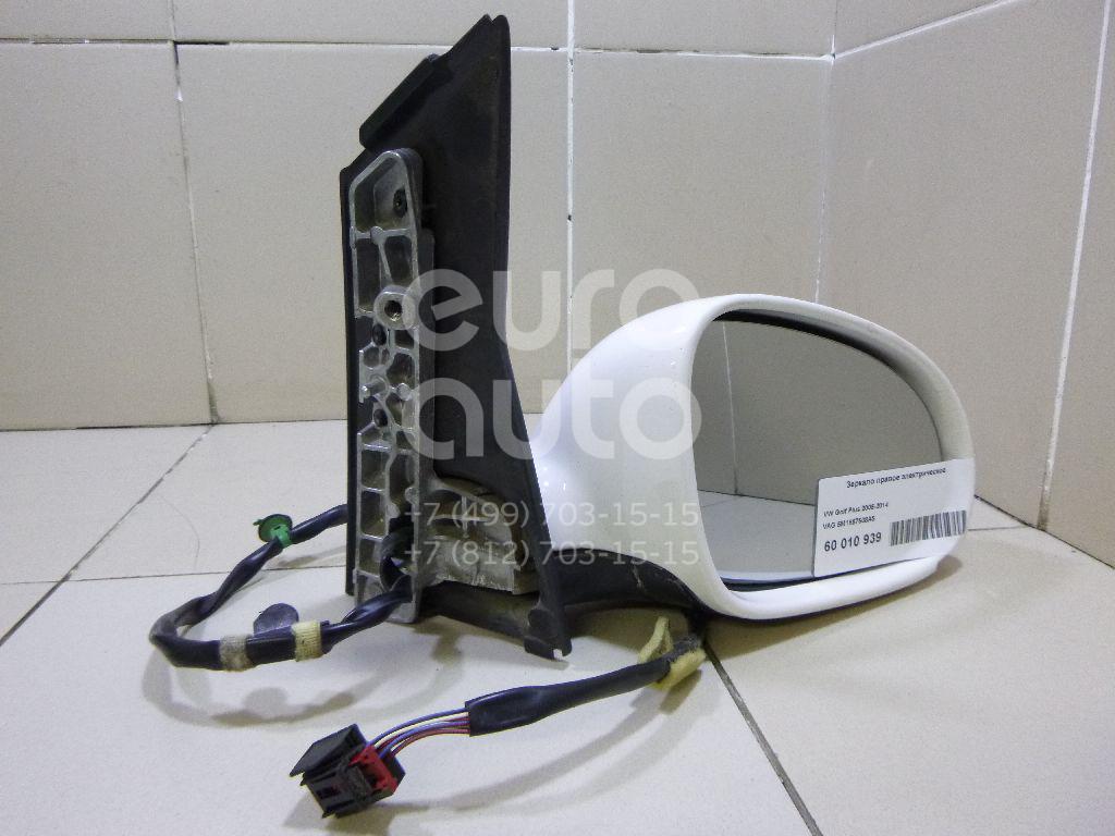 Зеркало правое электрическое для VW Golf V Plus 2005-2014 - Фото №1