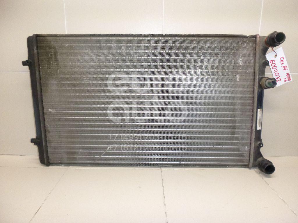 Радиатор основной для Skoda,Audi,Seat,VW Octavia (A4 1U-) 2000-2011;A3 (8L1) 1996-2003;TT(8N3) 1998-2006;Leon (1M1) 1999-2006;Toledo II 1999-2006;Octavia 1997-2000;Golf IV/Bora 1997-2005 - Фото №1