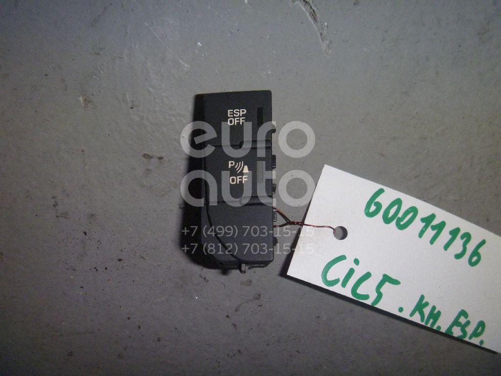 Кнопка антипробуксовочной системы для Citroen C5 2008> - Фото №1