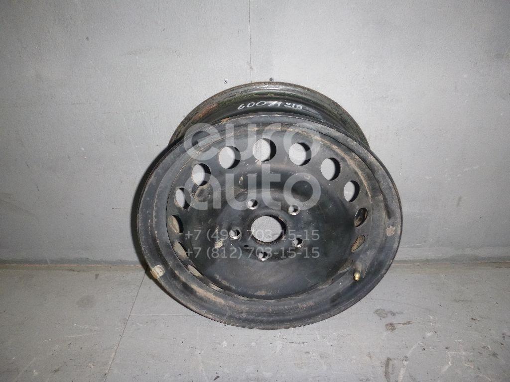 Диск колесный железо для VW Golf V Plus 2005-2014;Superb 2002-2008;Golf V 2003-2009;Touran 2003-2010;A3 [8P1] 2003-2013;Jetta 2006-2011;Octavia (A5 1Z-) 2004-2013;Leon (1P1) 2005-2013;Altea 2004>;Toledo III 2004-2009 - Фото №1