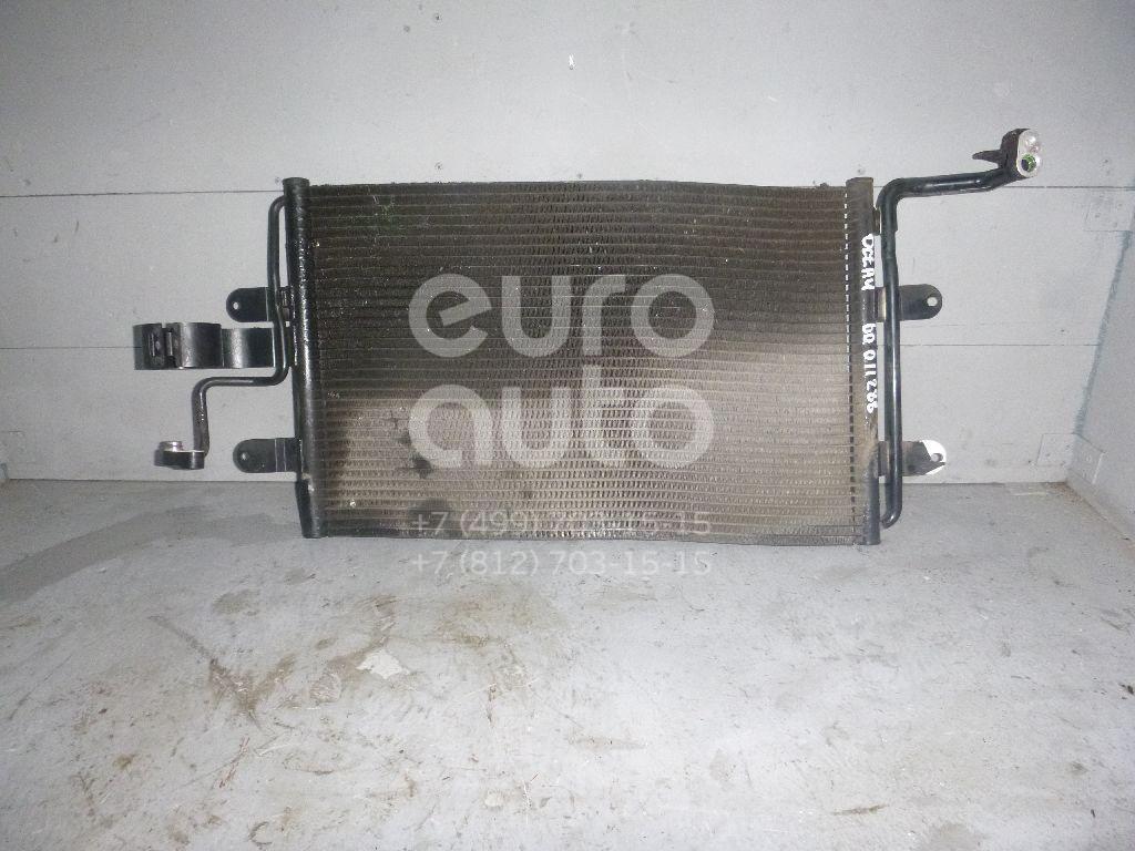 Радиатор кондиционера (конденсер) для VW Octavia (A4 1U-) 2000-2011;A3 (8L1) 1996-2003;TT(8N3) 1998-2006;Leon (1M1) 1999-2006;Toledo II 1999-2006;Octavia 1997-2000;Golf IV/Bora 1997-2005;New Beetle 1998-2010 - Фото №1
